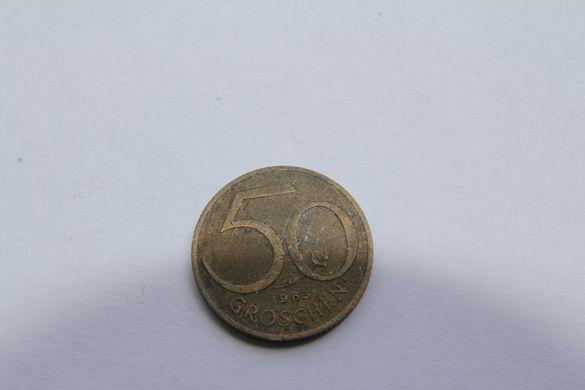 Монета 50 гроша от 1963г. - Австрия