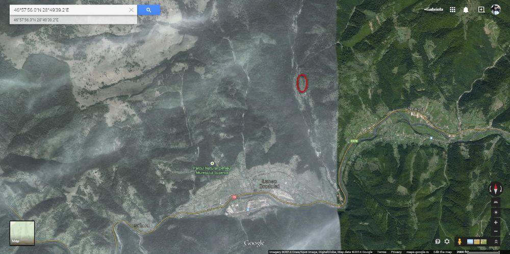 Vand teren Lunca Bradului (Jud. Mures), pe Valea Ilvei Lunca Bradului - imagine 1