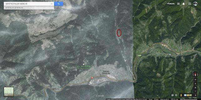 Vand teren Lunca Bradului (Jud. Mures), pe Valea Ilvei