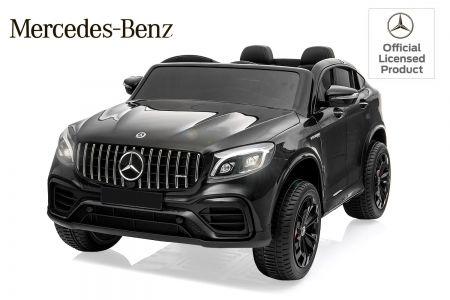 Masinuta electrica pt. 2 copii Mercedes GLC63s 4x4 12V 10Ah #Negru Tulcea - imagine 1