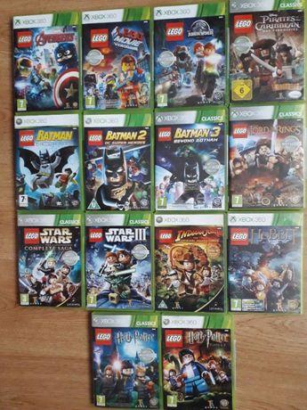 Xbox 360 seria Lego