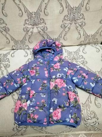 Куртка утепленная на р. 100
