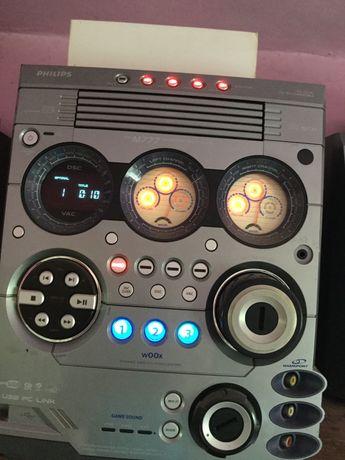 Combina audio philips M777  2x165watti RMS