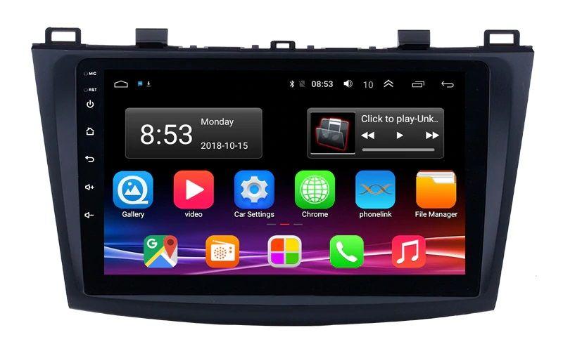Navigatie Android- Mazda 3 si 6 -9inch si 7inch Gps USB Bluetooth waze
