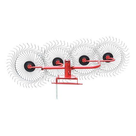 Grebla mecanica tip soare cu 4 rotoare Baisan Turkey TB39