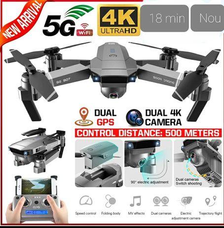 Dronă profesionala 4K si 14 megapixeli cu Gps,Zbor 18Min,anti pierdere