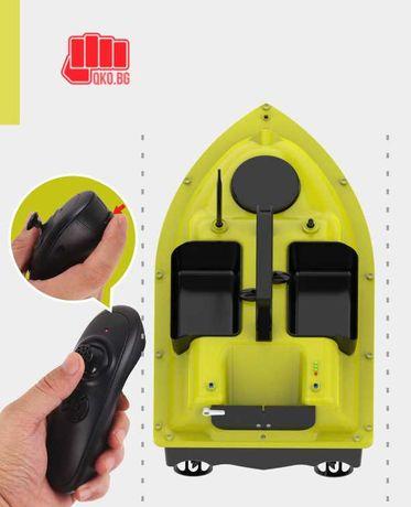 Нова запечатана Лодка тип Flytec за захранка с 3 коша