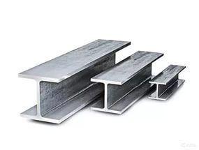 Двутавр (Балка) металлический, железо, новые, тавр