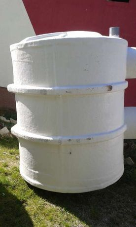 Fose septice, Bazine apa, rezervor de apa