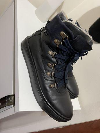 Кожаные ботинки , Ralf , на мальчика , размер 37