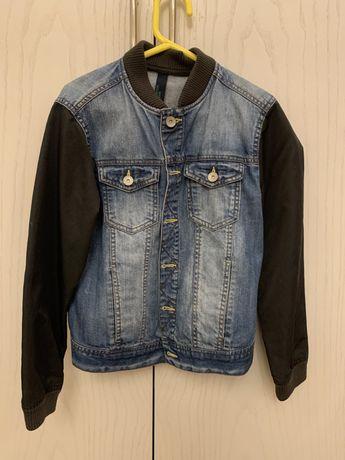 Куртка джинсовая на мальчика . Алматы .