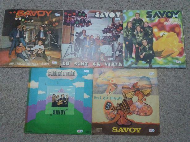 5 Disc vinil Savoy-Iscalitura de lumina-Lied cu fluturi-Ultimul romant