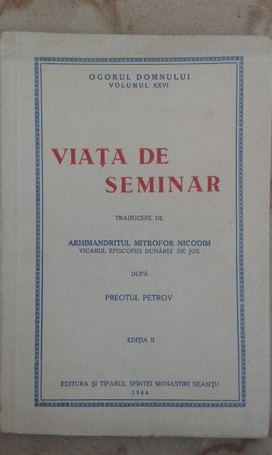 Viața de seminar, Ogorul Domnului volumul XXVI