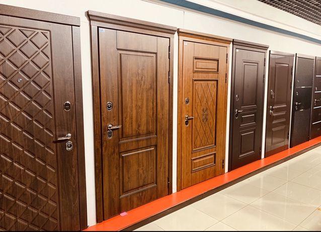 Входные наружные железные металлические двери Российского качества