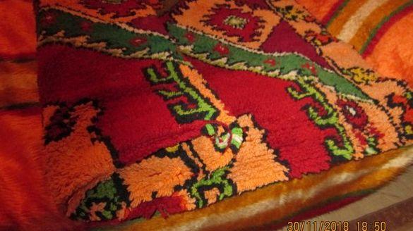 Одеало от многоцветна вълна 150/210 см.