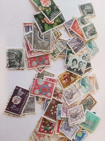 Lot 1 timbre diverse Luxemburg '66