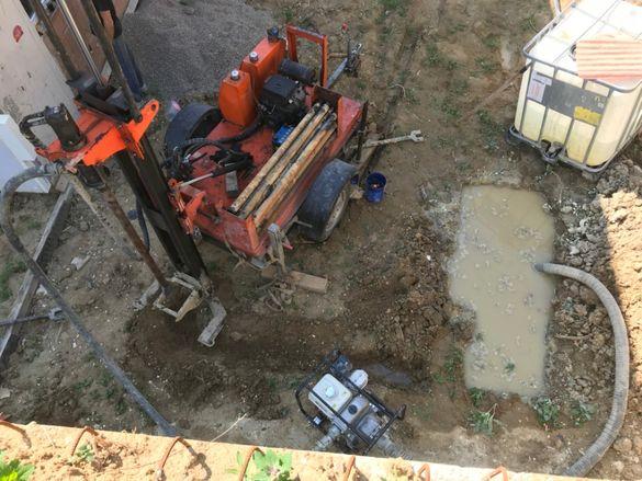 Сондажи за вода, Бурение водой, Water well