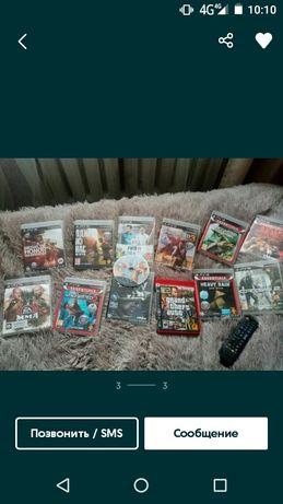 Коллекция игр на приставку сони 3