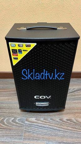 Акустическая Портативная Bluetooth AUX USB Колонка бренда COV 50Ватт