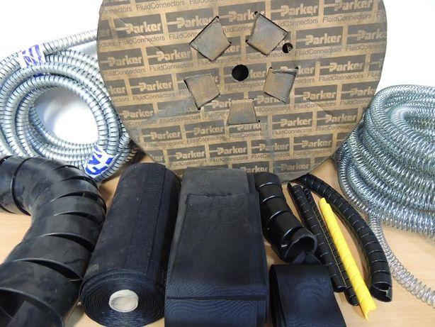 Protectie furtun hidraulic spirala sau textila