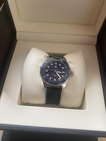 Tag Heuer Aquaracer Blue Mother of Pearl