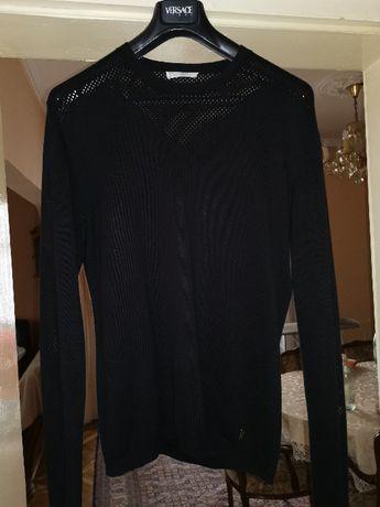 VERSACE Collection оригинален памучен пуловер