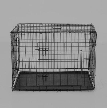 Cușcă  din oțel pentru căței