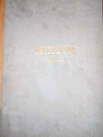 Revista Orizontul din anul 1922