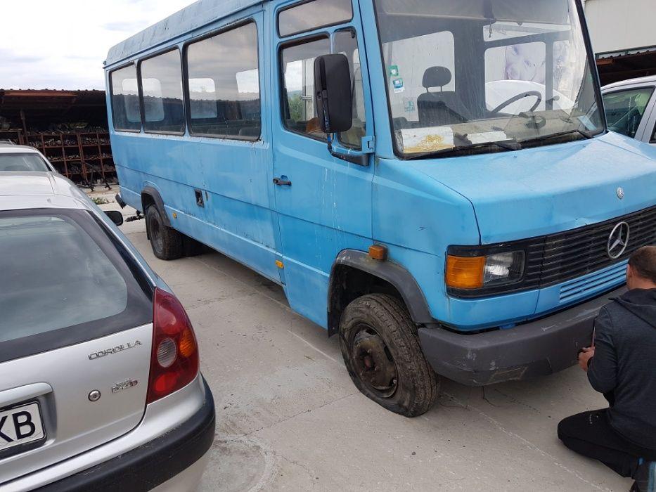 Мерцедес 609 пътнически На Части Mercedes Bus 609