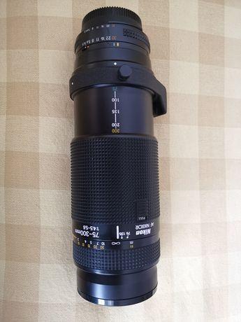 Objektif Nikon af Nikkor 75-300 1:4.5-5.6