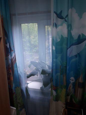 Продам шторы +тюль+плед
