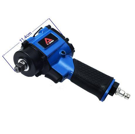 Pistol impact mini.Pistol pneumatic 1/2 mic si puternic 1200Nm.Noi+tva