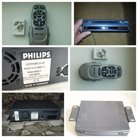 GPS Навигатор автомобильный Philips-Carin( рабочий) с пультом