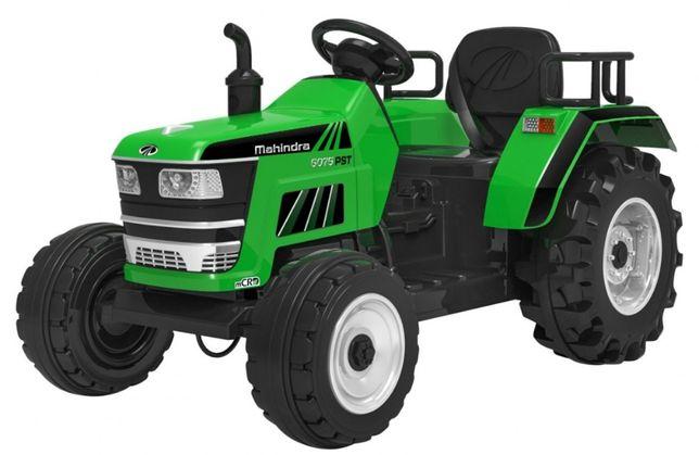 Tractor electric pentru copii cu roti mare BLAZIN (2788) Verde