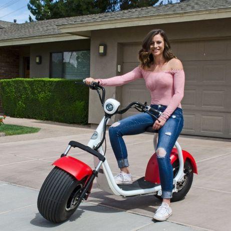 Scuter ELECTRIC Trotineta Scooter Electrica Chopper Harley Bicicleta