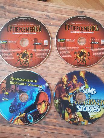 Лицензионные компьютерные игры диски шерлок холмс суперсемейка sims 2