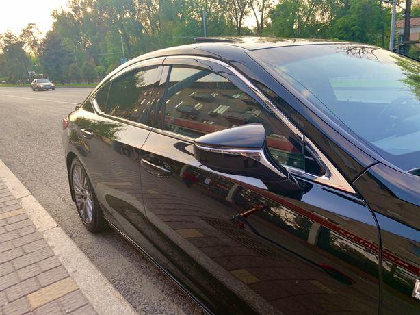 Lexus Es ветровики оригинальные 2018г-2020 лексус ес ветровики lexuses