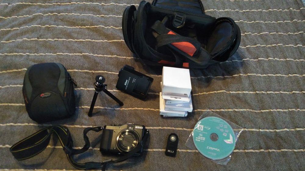 SCHIMB: Aparat foto Nikon P7000, accesorii, filtre, primul proprietar Cluj-Napoca - imagine 1