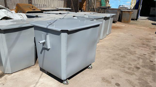 Мусорный контейнер, мусорный бак, бак тбо 1100 литров