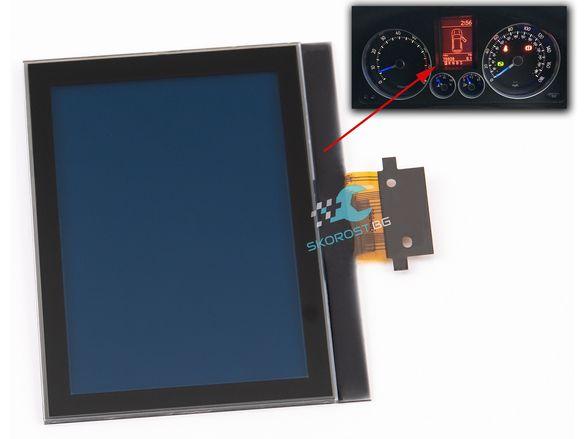 LCD Display Дисплей за Километраж Фолксваген VW Golf Touran