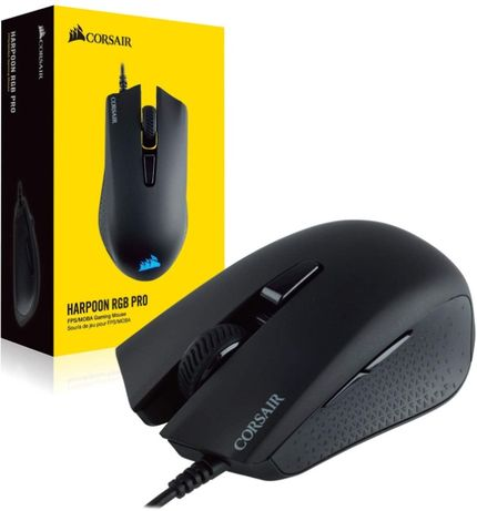Mouse gaming Corsair Harpoon PRO, Iluminare RGB, Negru,sigilat