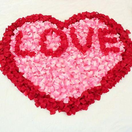 Копринени Розови листенца
