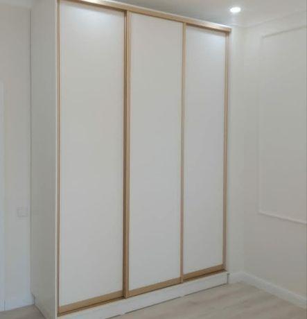 Гардеробная комната на заказ. Шкаф купе на заказ.