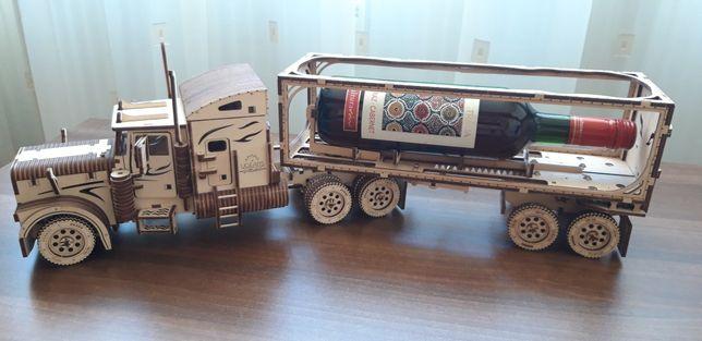 Camion și remorcă