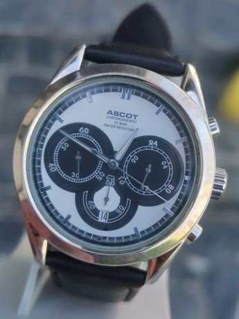 Ceas ASCOT Chronograph - Calendar - AM-PM - 42 mm