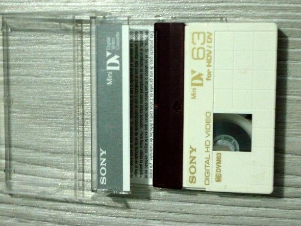 Casete Sony HDV/DV DVM 63
