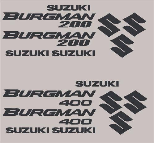Kit stickere suzuki burgman 200 400 600