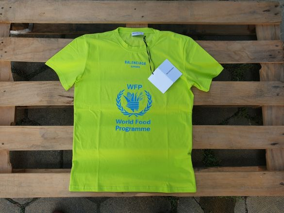 Balenciaga WFP World Food Programme дамска тениска размер XS