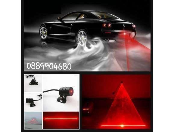 Стоп лазер за мъгла - различни шарки