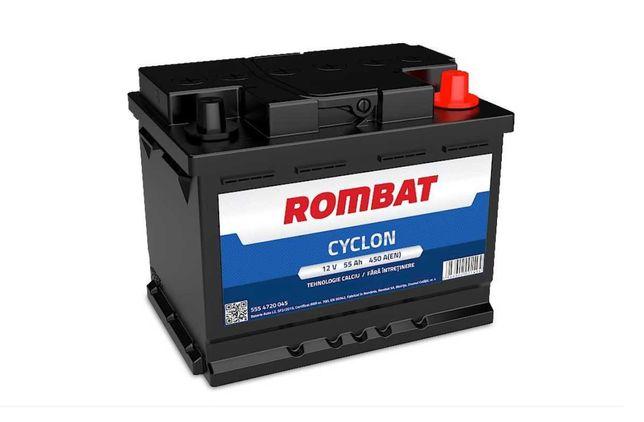 BATERIE AUTO ROMBAT Cyclon 55Ah EN 450A (an 2021)